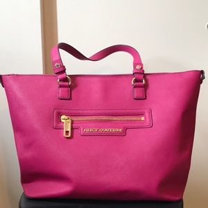 Hot pink Juicy Couture Tote ✨